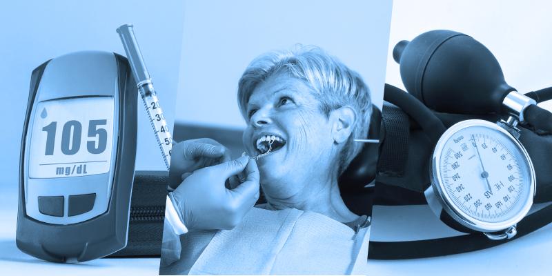 Assistência odontológica a pacientes com DCNT: diabetes, hipertensão e doença renal crônica