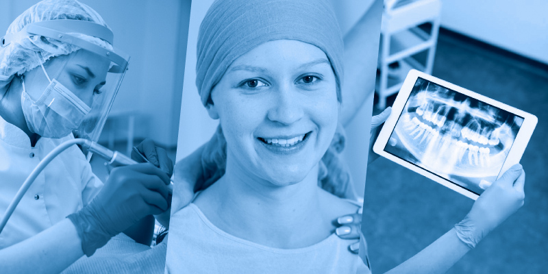 Assistência odontológica para pacientes com DCNT: pacientes com câncer